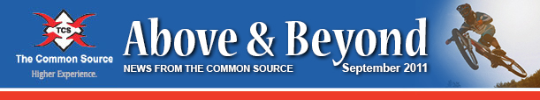 Above & Beyond News from The Common Source