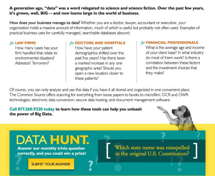 Data Hunt.