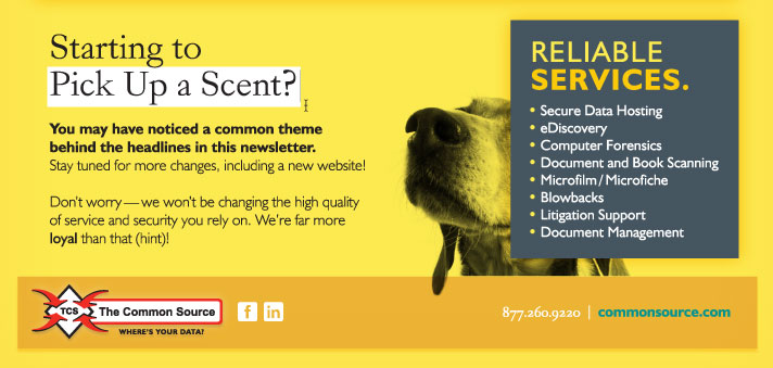 Starting to Pick Up a Scent?