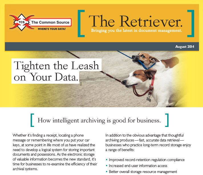 Tighten the Leash on Your Data.
