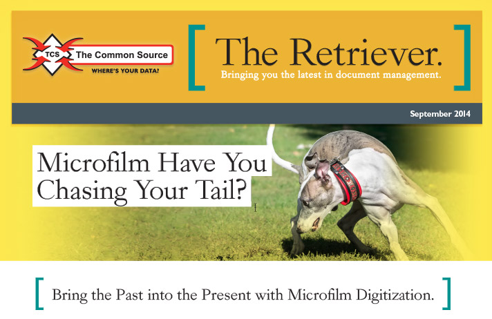 Microfilm Have You Chasing Your Tail?