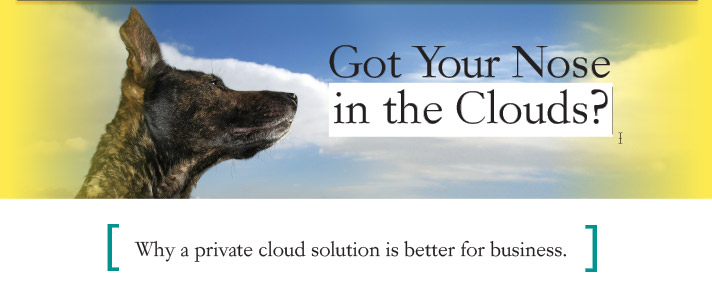 Got Your Nose in the Clouds?